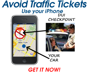 Avoid traffic tickets w/PhantomAlert for iphone