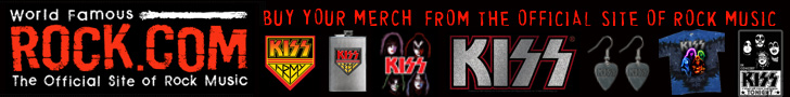 Get KISS Band T-Shirts & Merchandise from Rock.com