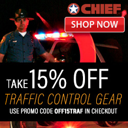 15% Off Traffic Control Gear @Chief!