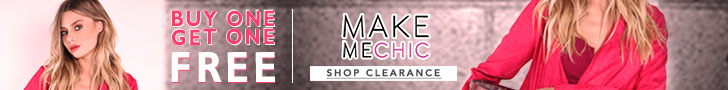 Buy 1, Get 1 Free on Clearance at MakeMeChic!  Valid 11/7 - 11/21