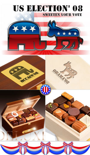 Cast your Vote with Election chocolate!