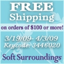 Free Shipping on $100+ at SoftSurroundings.com!