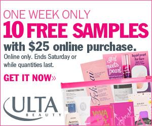 Ulta free samples