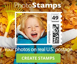 Your Photos on Real Postage