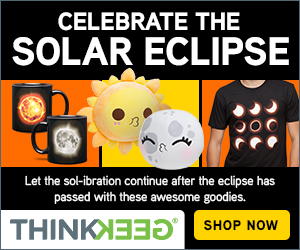 Celebrate the Solar Eclipse with ThinKGeek!
