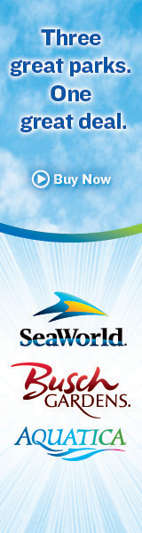 SeaWorld, Busch Gardens, & Aquatica