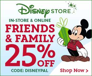 Disney Store Friends & Family
