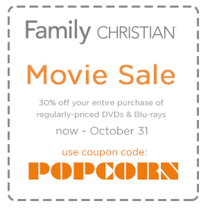 30% off your entire purchase of regularly-priced DVDs & Blu-rays with coupon code POPCORN