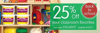 Save 25% Off Your Classroom Favorites At Discount School Supply! Get Free Shipping Too!