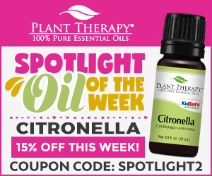 EXCLUSIVE! Get 15% Off Citronella [10mL] at Plant Therapy! Use Code SPOTLIGHT2 and Save!