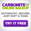 <link> Affordable online backup for your small business. Only $54.95/year for unlimited backup.Try it free!</link>