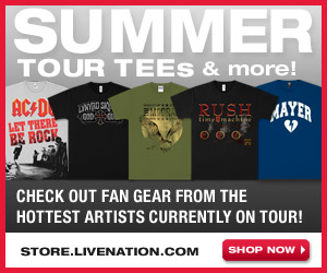 Live Nation Store - Green Gear Department