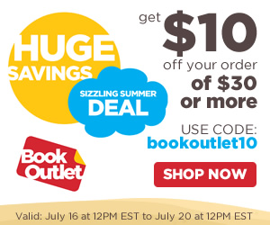 $10 off orders of $30 or more with code bookoutlet10
