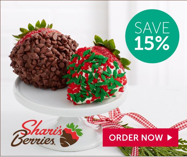 15% off Gourmet Holiday Strawberries & Sweet Treats (min $29)(598x502)