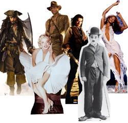 Lifesize Celebrity & Movie Cutouts - Standups