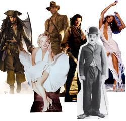 Lifesize Celebrity & Movie Cutouts - Standups