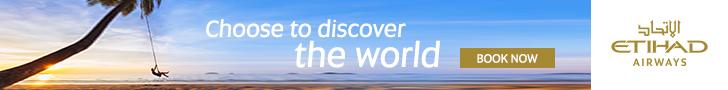 Etihad Airways Abu Dhabi Flights to Edinburgh Heathrow Seychelles India USA Phuket Johannesburg Multan and more…