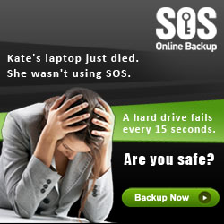 Online Backup - 5 PC's at low Price
