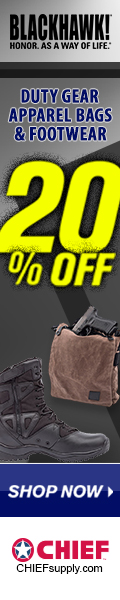 20% Off All BLACKHAWK Duty Gear @Chief
