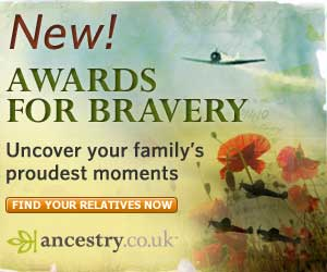 Trace your family's war heros!
