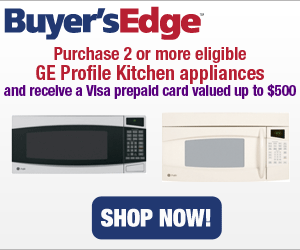 Purchase 2 or more eligible GE Profile Kitchen Ap