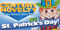 St. Patrick's Day Supplies at Century Novelty