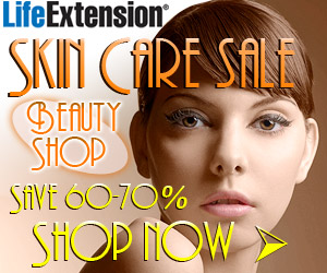 Life Extension Skin Care Sale - Save 60% to 70%