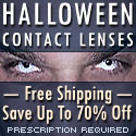 Special Effects, Fashion Contact Lenses, Halloween lenses