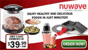 NuWave Oven Holiday Banner