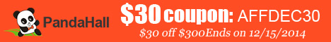 $30 off $300 sitewide coupon (code:AFFDEC30), ends on Dec 15, 2014.