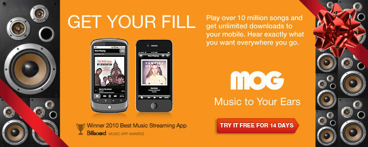 Unlimited Music On Demand.<br> Try MOG Free!