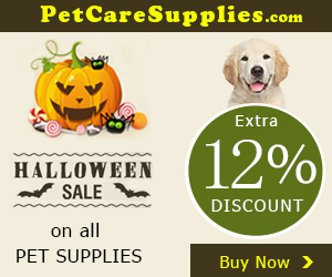 Halloween Sale Extra 12% Discount + Free Shipping on all PET SUPPLIES