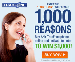 High tech phones for cheap and pay-as-you-go wireless from Tracfone.