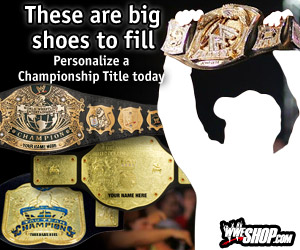 WWE Shop Championship Title Belts