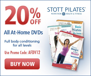 20% off STOTT PILATES DVDs