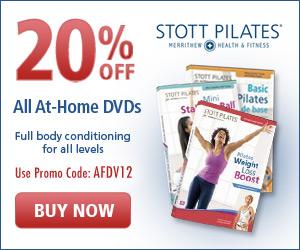 20% off STOTT PILATES DVDs