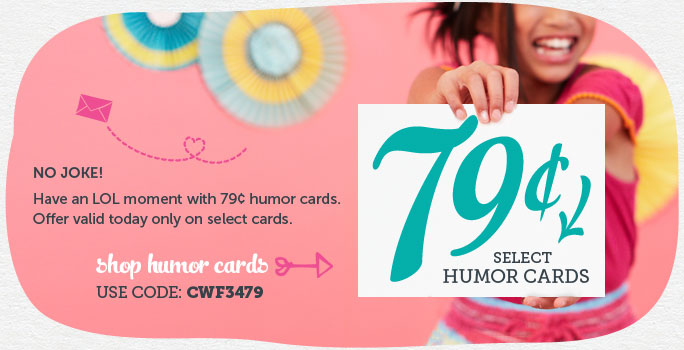 No Joke! $0.79 Personalized Cards from Cardstore – 4/1 Only!