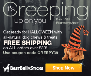 Free Shipping on orders over $39 at BestBullySticks.com