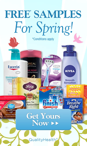 FREE Samples for Spring!