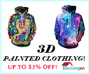 Men's 3D Painted Clothing 180*150