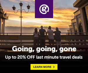 Image for Last minute travel deals 300x250