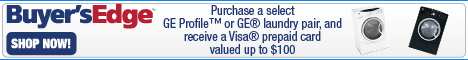 Purchase Select GE Profile or GE Laundry Pairs and
