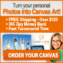 Your Photos on Canvas - Canvas Lifestyle
