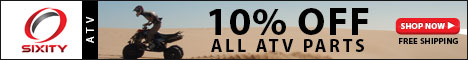 Save 10% on all Sixity ATV Parts
