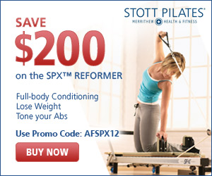 Save $200 on the Home SPX Reformer                           Package