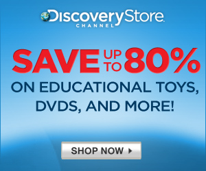 Shop the Discovery Sale - DVDs, Toys and Fan Gear!