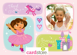 Personalized Dora the Explorer Cards at Cardstore! Shop Now!
