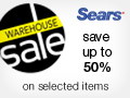Sears.ca Surprise Sale - 3 Days Only - October 8th to 10th at sears.ca