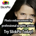 Photo enhancement by professional graphic artists