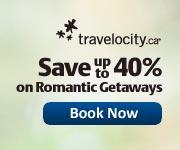 Save up to 40% on Valentine's Day getaways